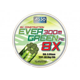 ASSO EVER GREEN 8X 300MT