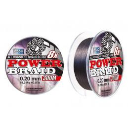 ASSO POWER BRAID 300M 8X
